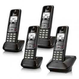 Teléfono inalámbrico Gigaset A420 + 3 Handys