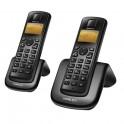 Teléfono inalámbrico Noblex NDT2000W Duo